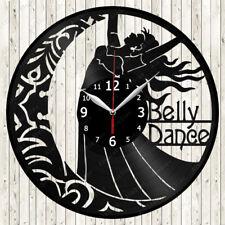 Belly Dance Vinyl Record Wall Clock Decor Handmade 1430