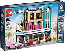 LEGO ® Creator Expert 10260 Américain Diner new neuf dans sa boîte _ ville diner En parfait état, dans sa boîte scellée Boîte d'origine jamais ouverte