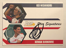2012 Ace Authentic Novak Djokovic Auto Signature DN-DS3