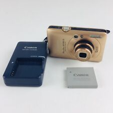 Canon PowerShot Digital ELPH SD780 IS 12.1MP Digital Camera With Charger