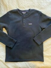 Patagonia Men's Better Sweater Henley Pullover - New Navy - Medium
