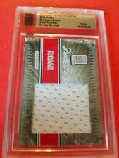 MICHAEL JORDAN GAME USED SHORTS card #d3/9 2010 FAMOUS FABRICS BULLS MILESTONES
