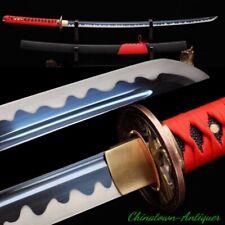 Full Tang Japanese Tiger King Samurai Sword Katana High Speed Steel Sharp #2567