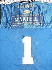 MARTELL COGNAC Rise Above Liquor Booze Label Logo #1 3XL Football NEW JERSEY