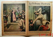 LA TRIBUNA ILLUSTRATA 31 GENOVA OSPEDALE SANPIERDARENA INCIDENTE 1/8/1954