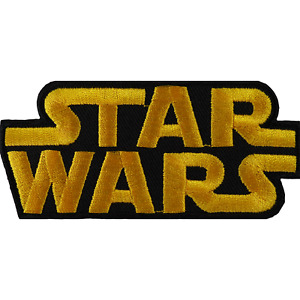 Star Wars Patch Embroidered Badge Iron On Sew On Clothes T Shirt Bag Fancy Dress