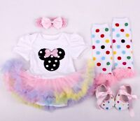 22'' Beautiful Handmade Dolls clothing Reborn Baby Doll Clothes Dress Suit set