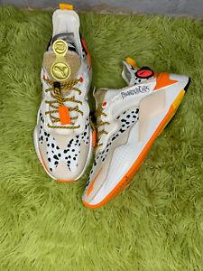 PUMA x THUNDERCATS RS-X T3CH Cheetara Thunder Cats Marshmallo White Orange Tiger