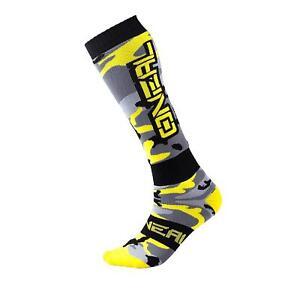 O'Neal Pro MX Knie Sock Socken HUNTER Neon Gelb Strümpfe Motocross Mountainbike