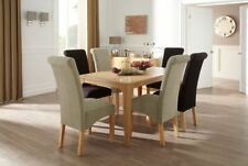 Oak Up to 6 5 Table & Chair Sets with Extending
