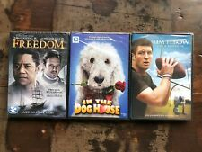 Freedom In the Dog House Tim Tebow on a Mission Faith DVD Lot New Free Ship