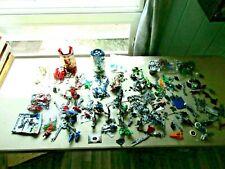 Huge Vintage Lego Bionicle Robot Warrior Junkyard Figure lot, Some completeToy