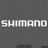 Shimano Fishing Tackles Outdoor Sports Vinyl Decal Sticker - Choose Color