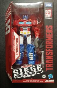 Transformers WFC-S65 Wal-Mart Exclusive Optimus Prime 35th Anniversary NISB