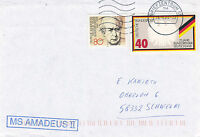 GERMAN CRUISE SHIP MS AMADEUS II A SHIPS CACHED COVER