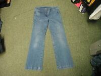 "Unknown Bootcut Jeans Waist 31 in Leg 30"" Faded Dark Blue Ladies Jeans"