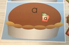 Apple Pie Sort - Uppercase Lowercase -Laminated Activity Set - Teaching Supplies