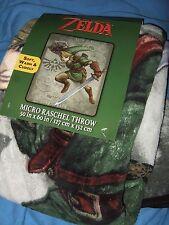 The Legend of Zelda Link Sword Nintendo Triforce Game Plush Fleece Throw Blanket