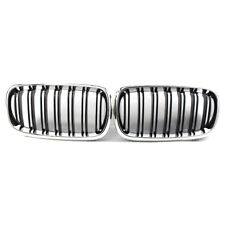 2014-17 For BMW X5 F15 Chrome & Black Front Grille 4 Door 535i 550i ABS Plastic