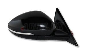 Jaguar F-Type X152 Genuine Right Side Power Folding Wing Mirror Santorini Black