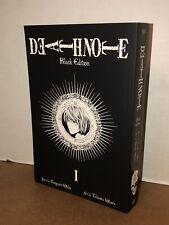 Deathnote Black Edition. Volume 1 Graphic Comic Paperback