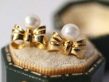 18ct yellow gold Pearl Earrings Studs