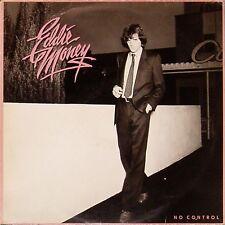EDDIE MONEY 'NO CONTROL' DUTCH IMPORT LP