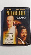 Philadelphia (DVD, 1999, Deluxe Widescreen Presentation) Tom Hanks Denzel Used