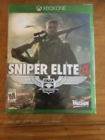 Sniper Elite 4 (Microsoft Xbox One, 2017) Brand New/Factory Sealed