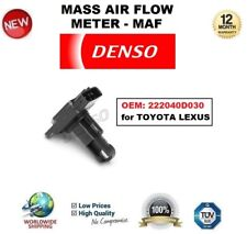DENSO MAF MASS AIR FLOW METER SENSOR OEM: 222040D030 for TOYOTA LEXUS OE QUALITY