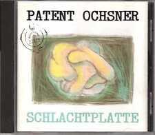 Patent Ochsner - Schlachtplatte - CDA - 1991 - Pop Rock Folk Switzerland
