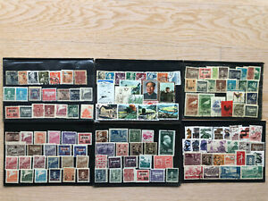 CHINA OLD STAMPS COLLECTION LOT 6 PAGES !!