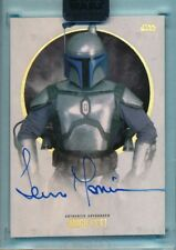 Topps Star Wars Stellar Auto Autograph TEMUERA MORRISON as JANGO FETT 21/40