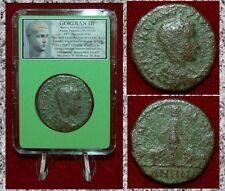 Ancient Roman Empire Coin Gordian Iii Moesia With Bull And Lion Large Coin