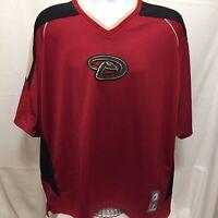 Majestic Arizona Diamondbacks Pullover Baseball Jersey Shirt Mens Sz XL MLB