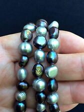 """Honora Gray Pearl Opera Length 54"""" Necklace- EXC"""
