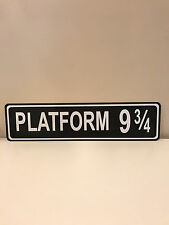 PLATFORM 9 3/4 Street / Road Name Sign!  Choice of Colors!