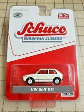 Schuco European Classics 1:64 VW Golf GTI White Mijo Exclusive New