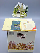 "Lillipute Lane ""Snowdown Lodge"" Miniature 1994 Christmas Lodge Collection New"