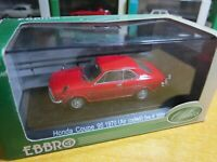 EBBRO - Scale 1/43 - Oldies - Honda Coupe 9S 1970 - RED - Mini Toy Car A9