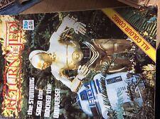 A3 rare comic return of the jedi star wars 1983 c3po