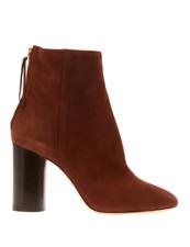 Isabel Marant Alona Ankle Boots Sz. 41 Bordeaux - Wildleder -French Style