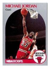 Michael Jordan 1990 NBA Hoops Chicago Bulls Official Basketball Card