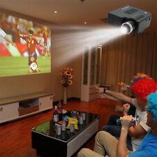 Mini 1080P HD Multimedia LED Projector Home Cinema Theater PC AV VGA USB HDMI TO