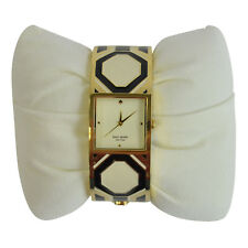 NIB Kate Spade When in Rome Delacorte Bangle Octoganal Watch in Gold $395