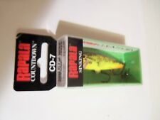 1 Rapala Countdown Sinking Minnow Lure CD7 Fire Minnow FMN NIP