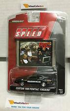 Greenlight * Custom 1989 Pontiac Firebird * Black * SPEED Pinks * N184