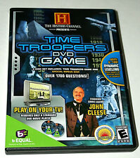 The History Channel Time Troopers DVD Game New NOS Sealed 2004 A&E John Cleese