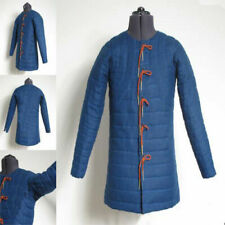 Medieval-Gambeson-thick-padded-coat-Aketon-vest-Armor-COSTUMES-DRESS-SCA