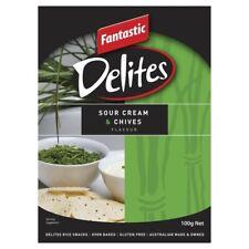 Fantastic Delites Sour Cream & Chives 100g